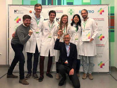Freiburger Medizinstudierende gewinnen internationalen Wettbewerb in Nowosibirsk
