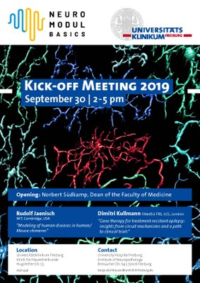 Kick- off Meeting NeuroModulBasics
