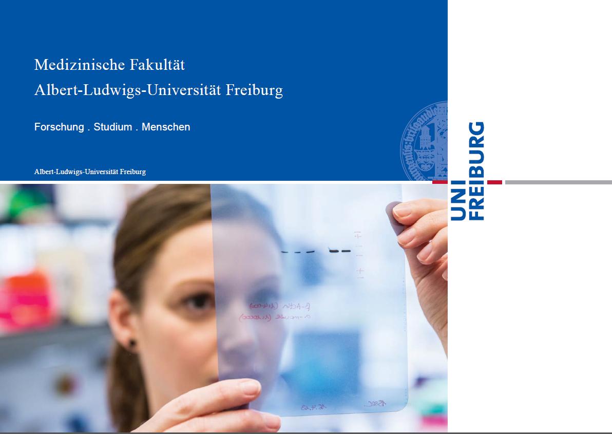 Neue Broschüre: Die Fakultät stellt sich vor