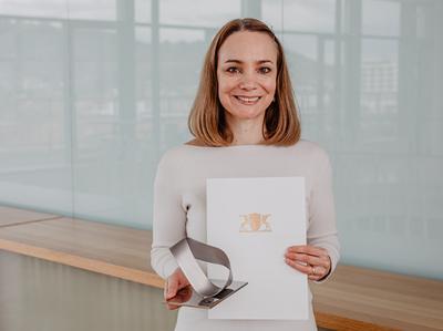 Landesforschungspreis für Professor Dr. Anna Köttgen
